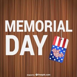 Memorial Day best offer background