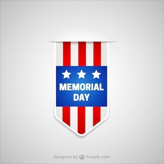 Memorial Day label