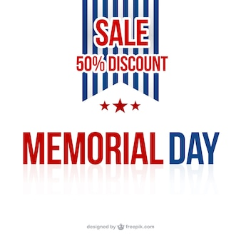 Memorial day sale background