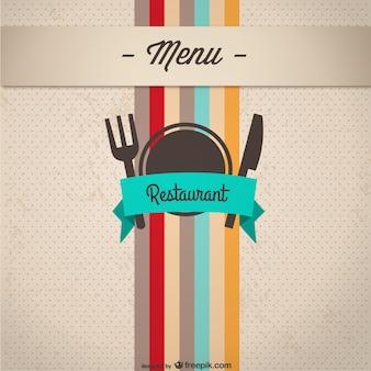 menu cover design    vector material