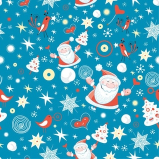 merry christmas design seamless background vector graphic