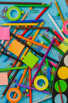 Mess made of stationery