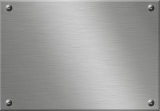 金属板の壁紙