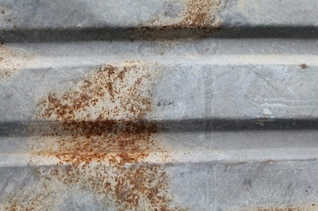 metal with rust texture