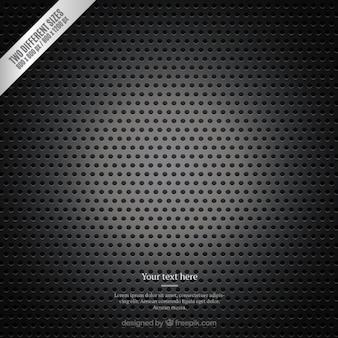 Metallic grille background