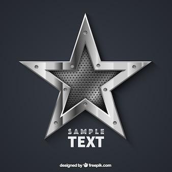 Metallic star