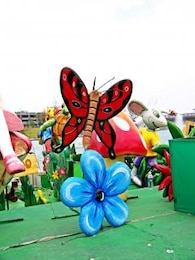 Mexican craft butterfly