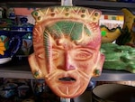 Mexican craft mask, disguise