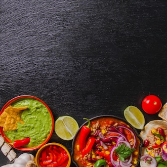 Food Background mexican food vectors, photos and psd files | free download