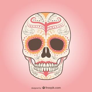 Mexican skull vector