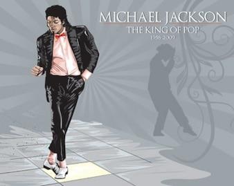 Michael Jackson Vector Illustration