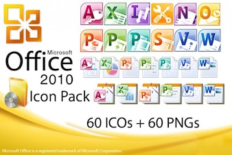 microsoft office  icon pack
