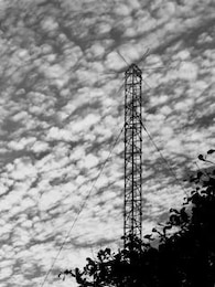 Military Communications Mast