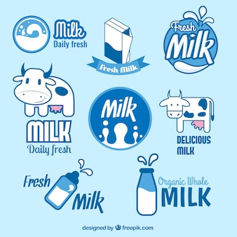 Milk badges