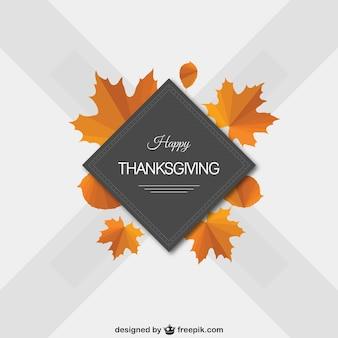 Minimalist happy Thanksgiving vector
