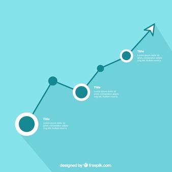 Minimalist infographic template