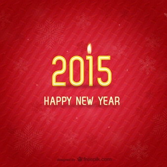 Minimalist New Year card