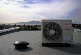 Mitsubishi Air Conditioner, rangitoto