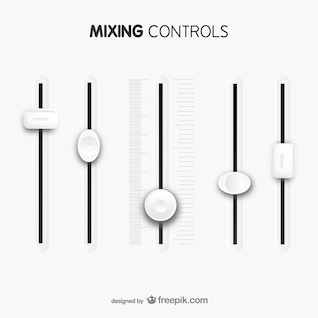 Mixing controls template