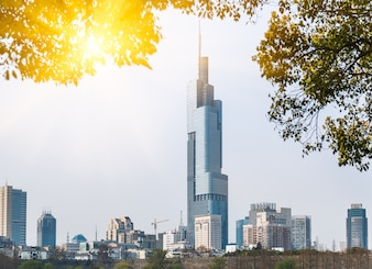 Modern architecture in Nanjing, China