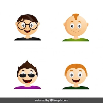 Modern men avatar