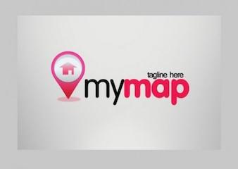 modern my map illustrator vector