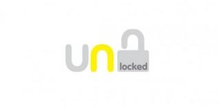 modern unlock logo vector pack