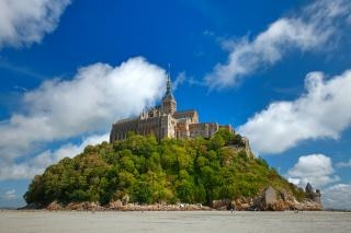 Mont saint michel  france