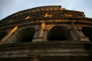 Monument of Rome Italy
