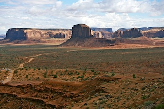 Monuments Valley Scenery