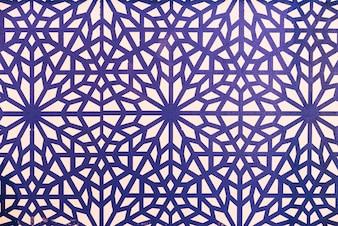 モロッコは、背景をタイル