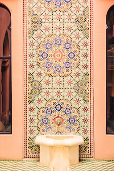 Mosaic palace ben door pattern
