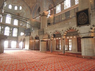mosque turkey istanbul glass
