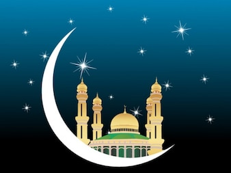Mosques Vector Graphic