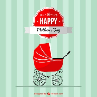 Mother's day baby stroller design