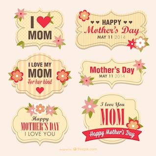 Mother's day flower banners