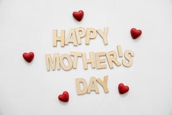 Письмо матери с сердцем