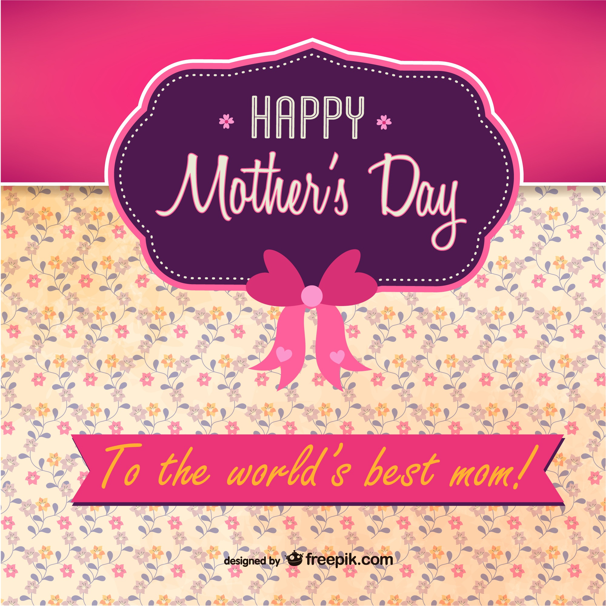 Mother's day printable free for download