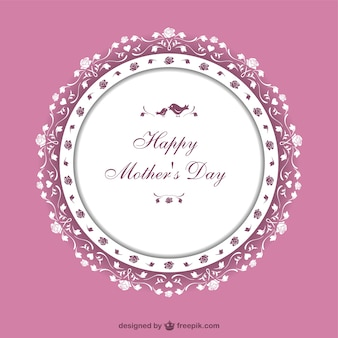 Mother's day vector art