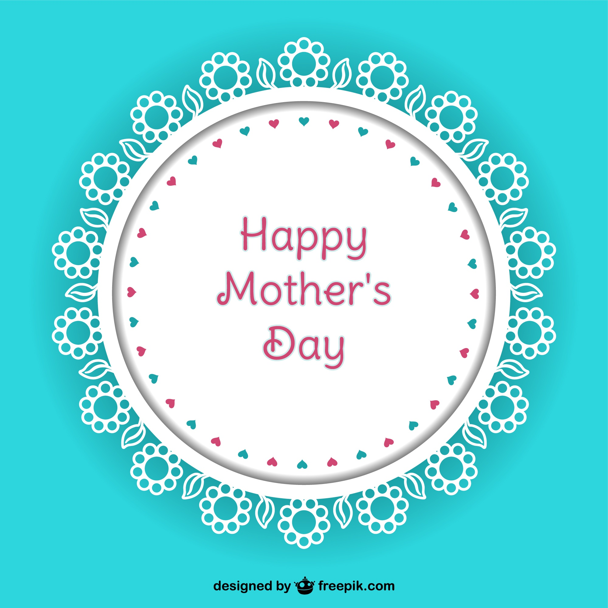 Mother's day vector background