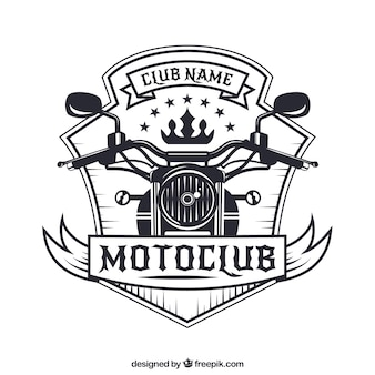 Motorcycle badge