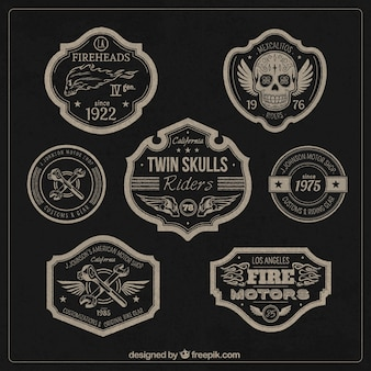 Motors badges