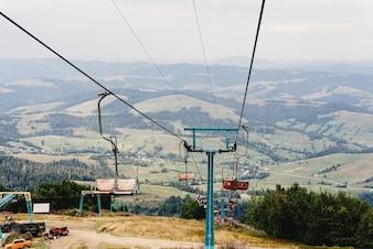 スキー登山機