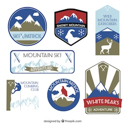 Mountain labels