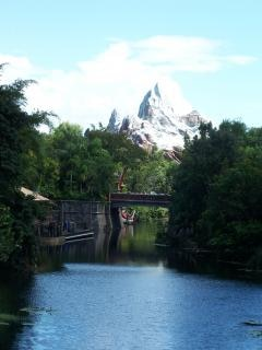 Mountain range at Disneys Animal Kingdom