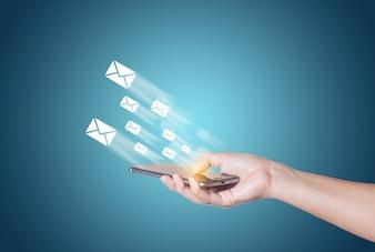 Move messaging electronic messenger upload