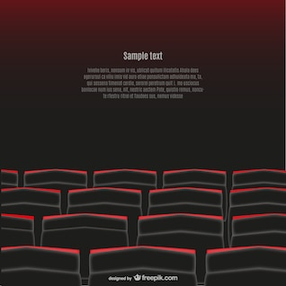 Movie theater free vector