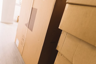 Moving packages in room