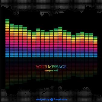 Music equalizer vector download