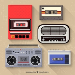 Music players collection